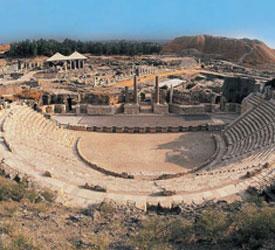 בית-שאן העתיקה. צילום רוני קציר