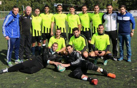 """הישג ענק ל""""אוהלו"""": זכתה באליפות אס""""א בכדורגל דשא שביעיות"""