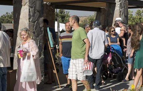 קבלת שבת ופתיחת שוק האיכרים בגולן