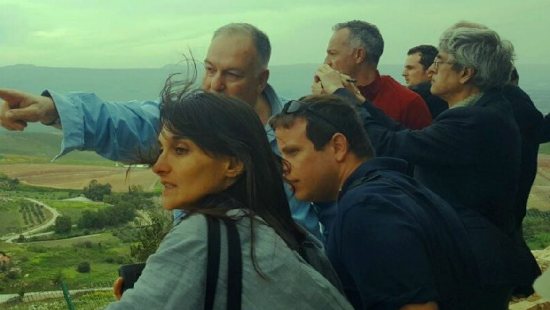 עיתונאים מאירופה ערכו סיור בגולן, על אף החרם
