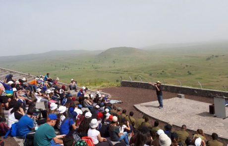 לקראת יום הזיכרון: שימור אנדרטאות בגולן