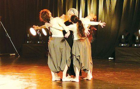 ערב השקה בחיספין נשים רוקדות