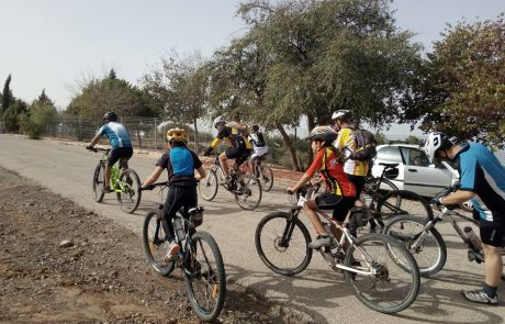 הכרות עם ארבעה רוכבי אופניים מהגולן