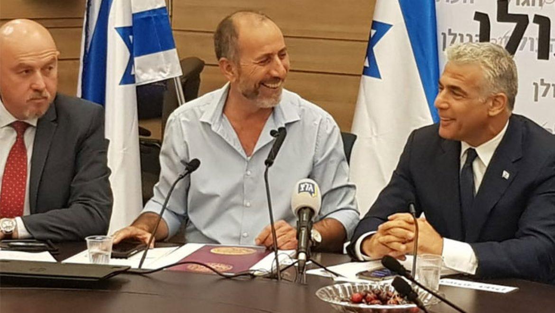 """""""הכירו בריבונות הישראלית על רמת הגולן"""""""