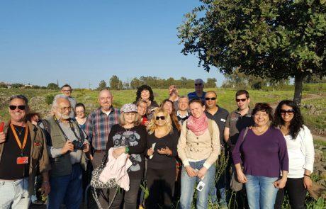 סיור עיתונאי תיירות, שהתקיים השבוע בקצרין