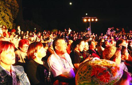 """בסוכות פקדו כעשרת אלפים מבקרים את פסטיבל """"צלילי בזלת"""""""