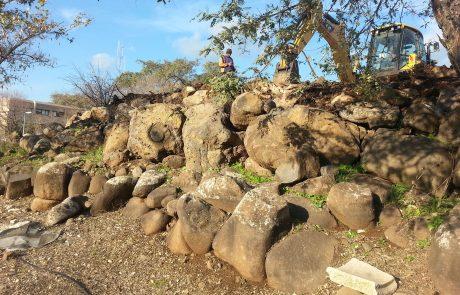 איך הצילה טכנולוגיה של המאה ה-21 סלע בן מאות אלפי שנים