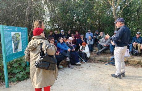 יהודי רומאי ודרוזי נפגשים בדרך מהגולן לתל דן