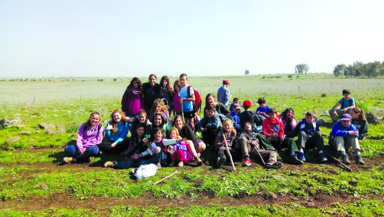 קח מקל קח תרמיל תנועות הנוער בגולן