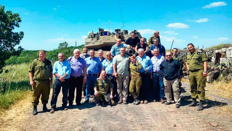 כנס בקיבוץ אל-רום מפקדי גדוד 77 לדורותיהם