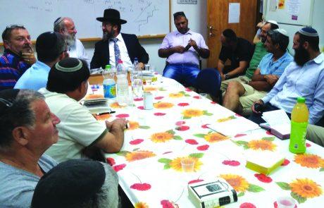 בית המדרש הקהילתי בקצרין פועל מערב ראש השנה