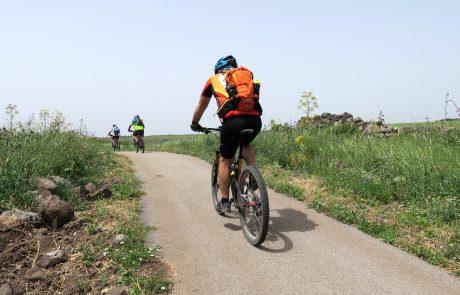 תכנית להקמת שבילי אופניים בקצרין