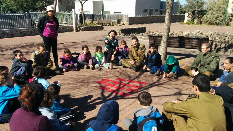 הפנינג משותף לילדים מהגולן ומקצרין