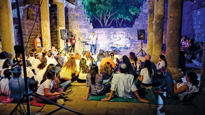 """פתיחת שנה ב""""עיינות"""" – יהדות ישראלית במרכז הקהילתי גולן"""