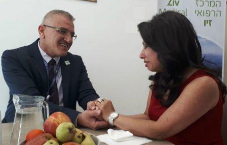 בריגי'ט גבריאל הגיעה ל״זיו״ לומר תודה