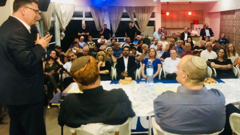 גדעון סער בגולן: להקים אוניברסיטה בגליל