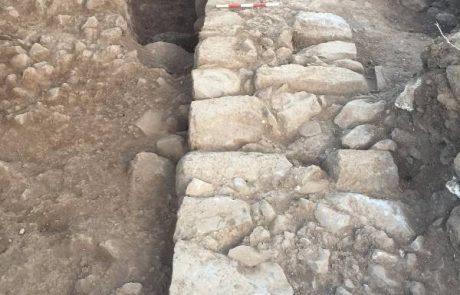ממצאים מהתקופה הרומית התגלו בחפירה ארכיאולוגית בגולן