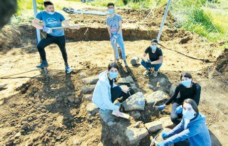 חפירות ארכיאולוגיות בשגרת קורונה