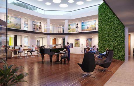 """""""מרכז צעירים"""" החדש במבנה גמלא הישן"""