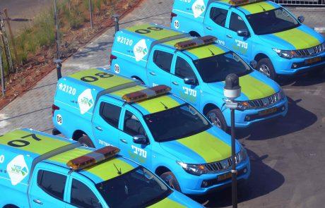 חברת נתיבי ישראל חנכה 10 ניידות שירות וסיור חדשות