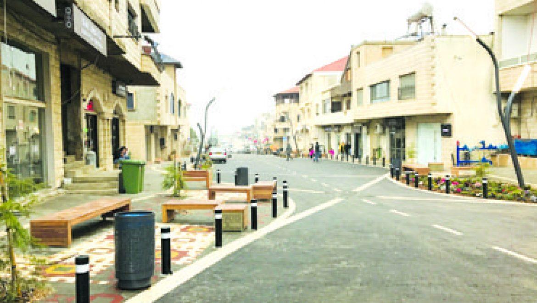 במג'דל שמס – רחוב בנוי ממלאכת יד