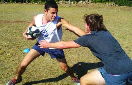 ענף ספורט חדש בגולן – הרוגבי