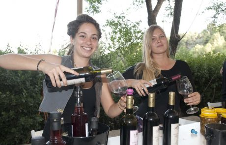 אלפי מבקרים ביריד היין בראש פינה