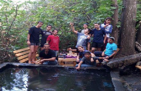 מה ילדי נוער ז'-ח' חספין עשו כדי לתרום, לתת ולשפר את הסביבה
