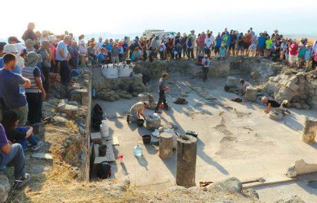 סיור מודרך לציון 20 שנות חפירה באתר סוסיתא