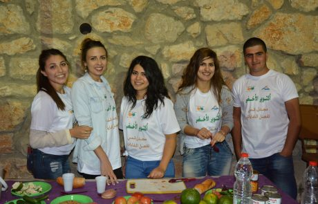 מג'דל שמס בצפון הגולן – מפרידים פסולת