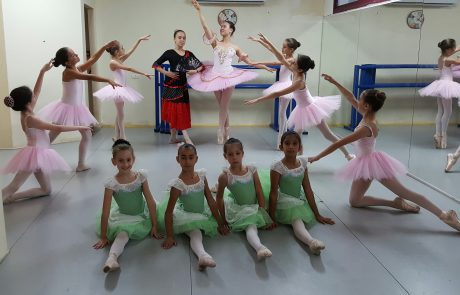 מחלום למציאות: בית הספר לבלט בכפר האומנים אניעם