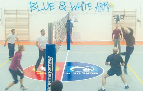 השבוע נפתחה אליפות ישובי הגולן בכדורעף
