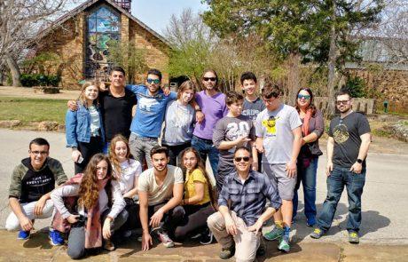 משלחת נוער מהגולן בטולסה, אוקלהומה