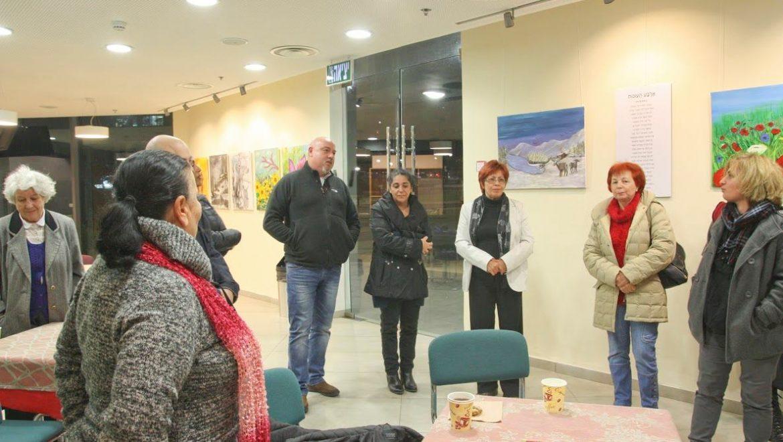 קבוצת היוצרים למען קצרין מסכמת שנת פעילות באולם תרבות