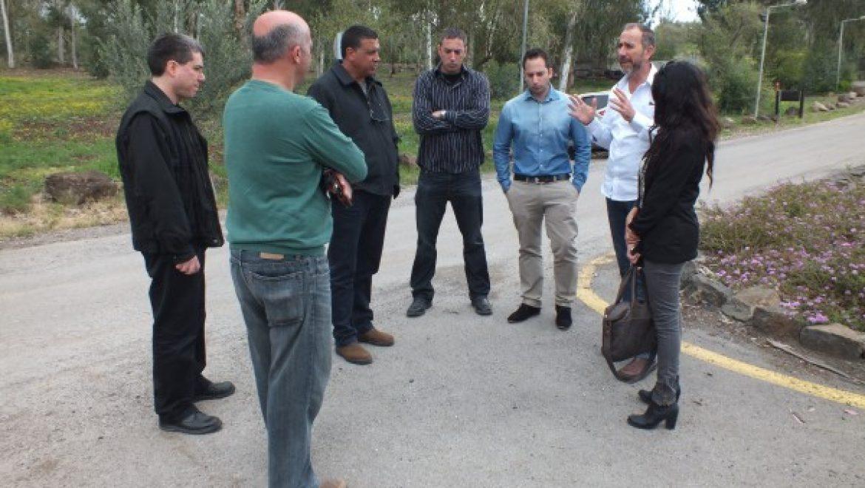 """תיירות הגולן עם הפנים לתיירות מחו""""ל"""