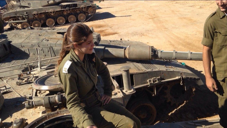 קצינת החימוש של גדוד שריון 198, בוגרת נופי גולן תושבת אליעד