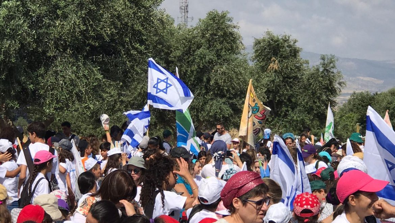 תלמידי קצרין, צעדו בעיר לכבוד יום ירושלים