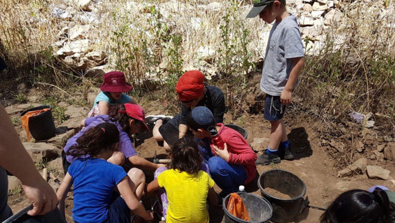 חפירות בחיספין העתיקה