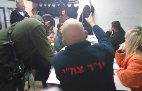 """700 תושבי מוא""""ז גולן מתנדבים בחירום"""