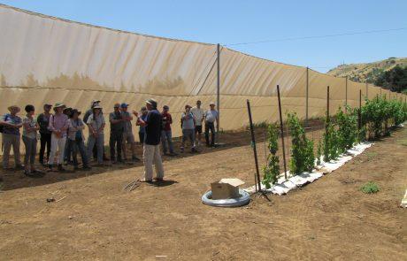 סיור בגולן של העמותה הישראלית למחלות צמחים