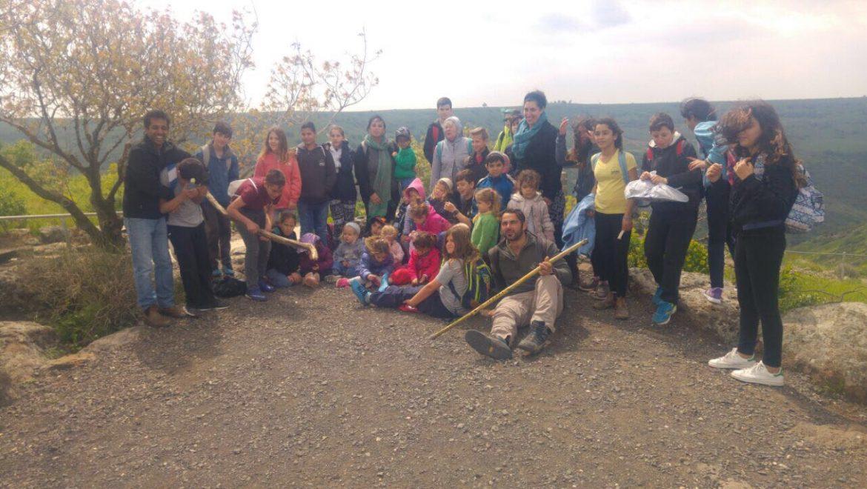 ילדי הגולן פורשים כנף על הנשרים ועל הקהילה