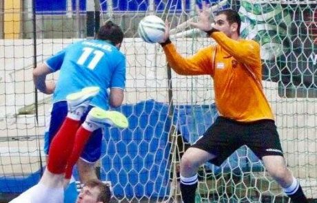 """הישגים מרשימים ל""""אוהלו"""" באליפות אירופה בכדורגל אולמות"""