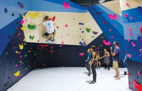 """מטפס על הקירות בחל""""ת"""