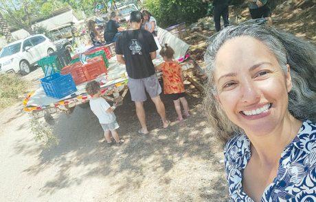 אירוח משפחות מקו העימות בגולן