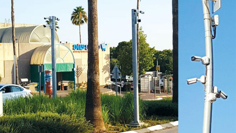 כ- 60 מצלמות אבטחה מותקנות ברחבי העיר
