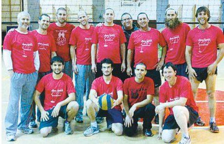 סיכום שבועי- ליגת הכדורעף של יישובי הגולן
