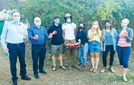ביקור שר החקלאות בגולן ובגליל