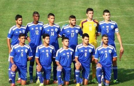 עידן נחמיאס מאניעם – קפטן נבחרת הנוער בכדורגל